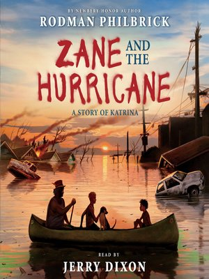 cover image of Zane and the Hurricane