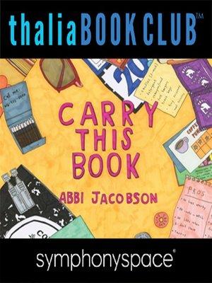 thalia book club abbi jacobson carry this book