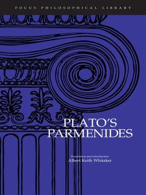 Focus philosophical libraryseries overdrive rakuten overdrive parmenides focus philosophical library series fandeluxe Gallery
