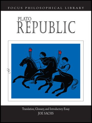 cover image of Plato: Republic