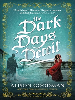 cover image of The Dark Days Deceit--A Lady Helen Novel