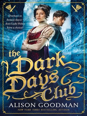 cover image of The Dark Days Club--A Lady Helen Novel