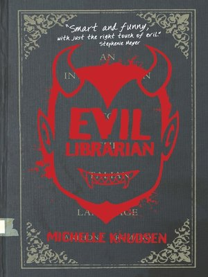cover image of Evil Librarian Series, Book 1
