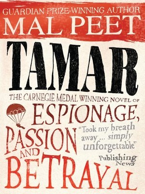 cover image of Tamar--A Story of Secrecy and Survival