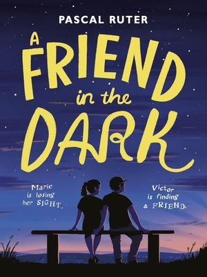 cover image of A Friend in the Dark