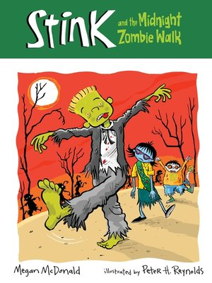 cover image of Stink and the Midnight Zombie Walk