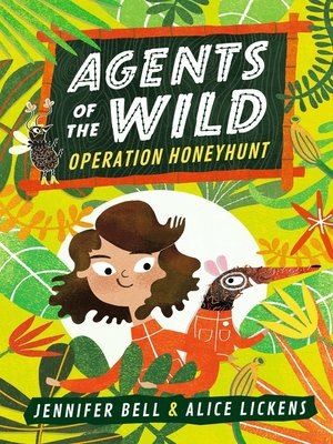 cover image of Operation Honeyhunt: Agents of the Wild Series, Book 1