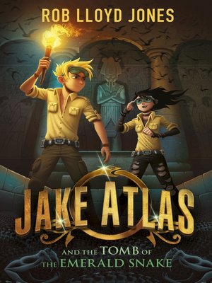 cover image of Jake Atlas and the Tomb of the Emerald Snake