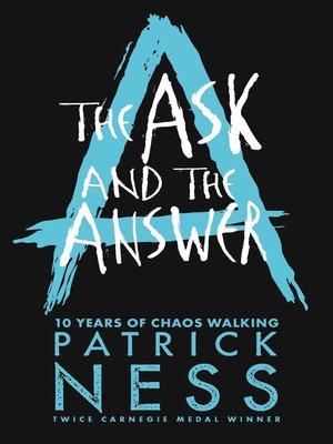 cover image of The Ask and the Answer