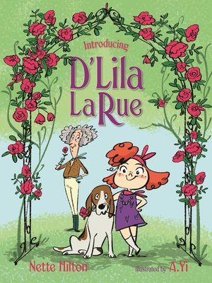 cover image of Introducing D'Lila LaRue