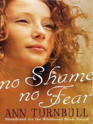 cover image of No Shame, No Fear