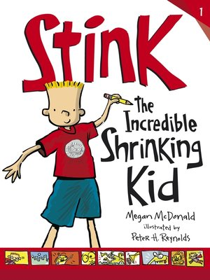 cover image of Stink: The Incredible Shrinking Kid