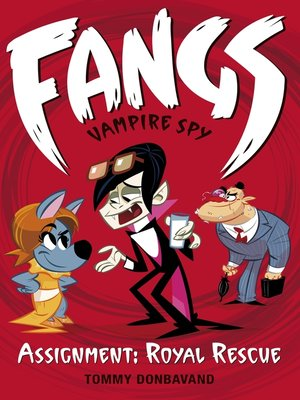 cover image of Fangs Vampire Spy Book 3