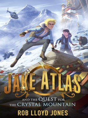 cover image of Jake Atlas and the Quest for the Crystal Mountain