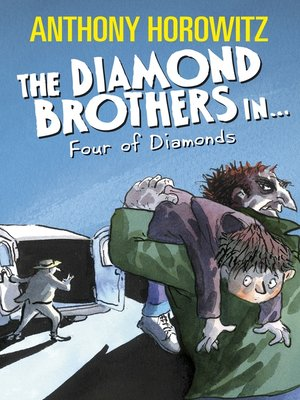 cover image of The Diamond Brothers in the Four of Diamonds