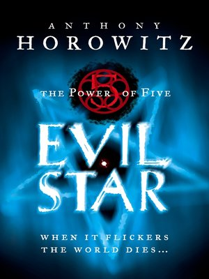 cover image of The Power of Five: Evil Star