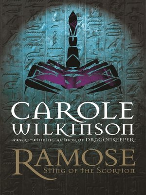 cover image of Ramose: Sting of the Scorpion