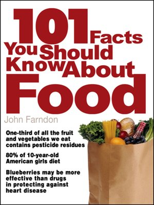 cover image of 101 Facts You Should Know About Food