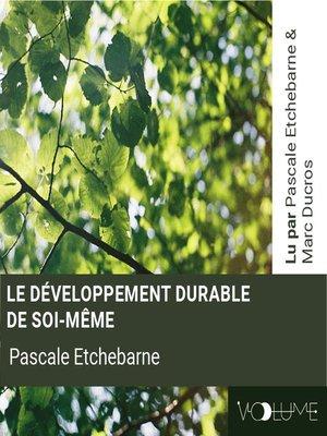 cover image of Le développement durable de soi-même
