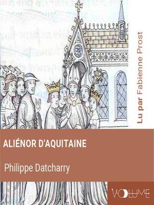 cover image of Aliénor d'Aquitaine