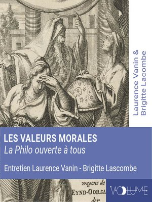 cover image of Les valeurs morales