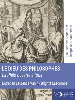 cover image of Le Dieu des philosophes