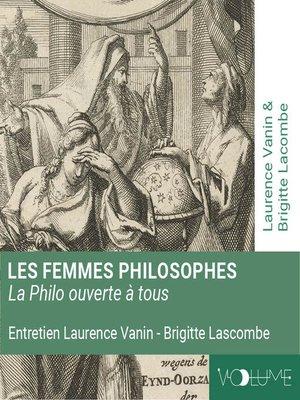 cover image of Les femmes philosophes