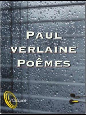 cover image of Poèmes de Paul Verlaine