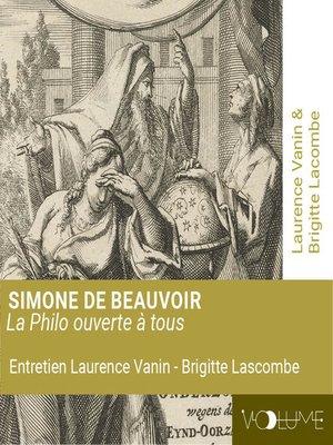 cover image of Simone de Beauvoir