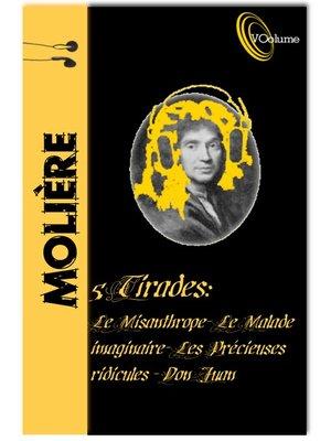 cover image of Tirades de Jean-Baptiste Molière (5)