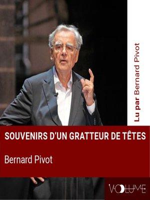 cover image of Souvenirs d'un gratteur de têtes
