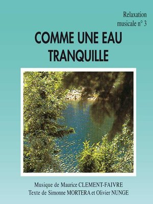 cover image of Comme une Eau Tranquille