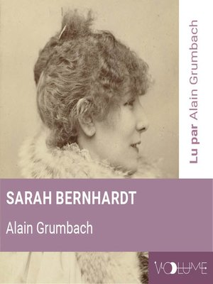 cover image of Sarah Bernhardt