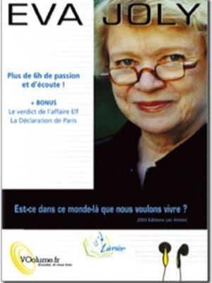 cover image of Est-ce Dans Ce Monde Là Que Nous Voulons Vivre?