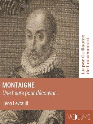 cover image of Montaigne