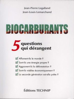 cover image of Biocarburnts
