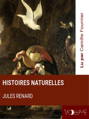 cover image of Histoires naturelles