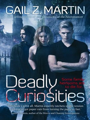 cover image of Deadly Curiosities