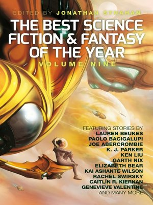 cover image of The Best Science Fiction and Fantasy of the Year, Volume 9