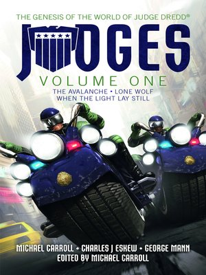 cover image of Judges: Volume One