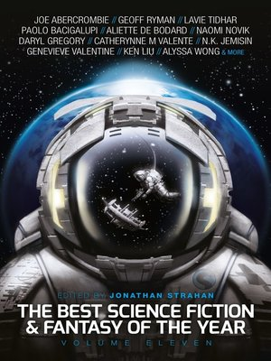 cover image of The Best Science Fiction and Fantasy of the Year, Volume 11