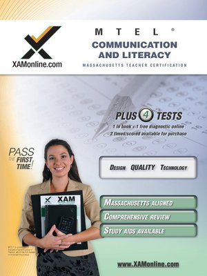 cover image of MTEL Communication and Literacy Skills 001