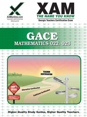 gace mathematics 022, 023 by sharon wynne · overdrive (rakuten ...