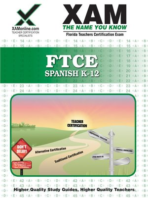cover image of FTCE Spanish K-12
