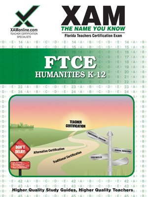 cover image of FTCE Humanities K-12
