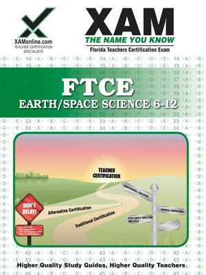 cover image of FTCE Earth/Space Science 6-12