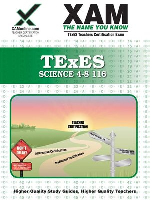 cover image of TExES Science 4-8 116