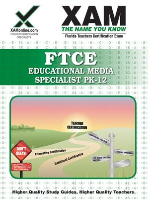 cover image of FTCE Educational Media Specialist PK-12