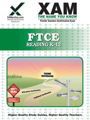 cover image of FTCE Reading  K-12