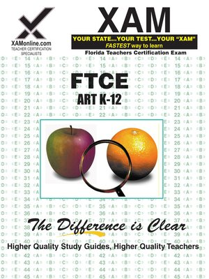 cover image of FTCE Art Sample Test K-12
